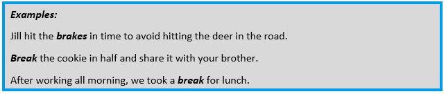 Brake-Break